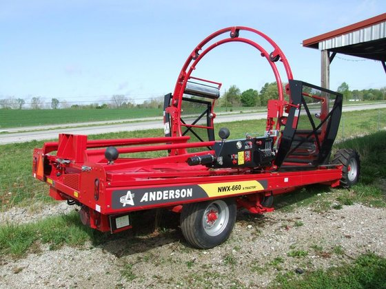 Anderson NWX660 Bale wrappers in