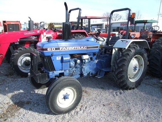 Farmtrac 60 2wd, 679 Hrs.