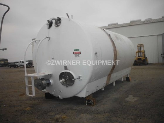 DCI 6,000 Gallon Refrigerated Horizontal Cylindrical Storage Tank in