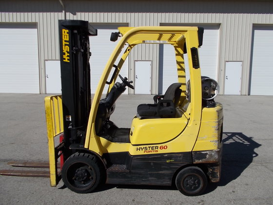 2008 HYSTER S60FT in Rockdale,