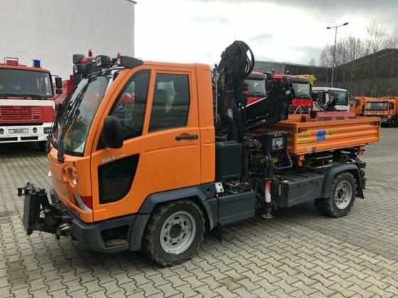 Top Gebraucht 2007 Multicar FUMO M30 4x4 Kipper Kran Greifer @BN_08