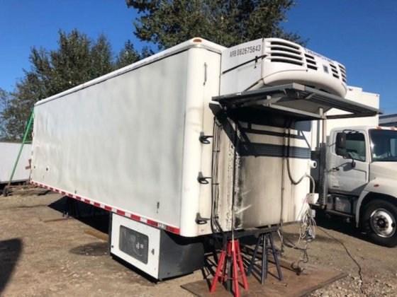 25' Insulated Box With Thermo King Reefer in Surrey, British Columbia,  Canada