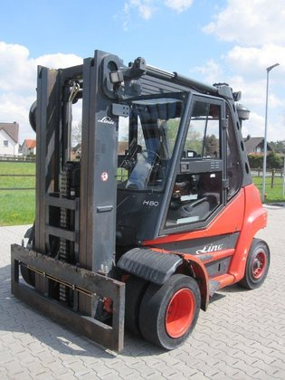 2009 Linde H80D in Augustdorf,