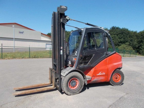 2005 Linde H50D-394 in Rippershausen,