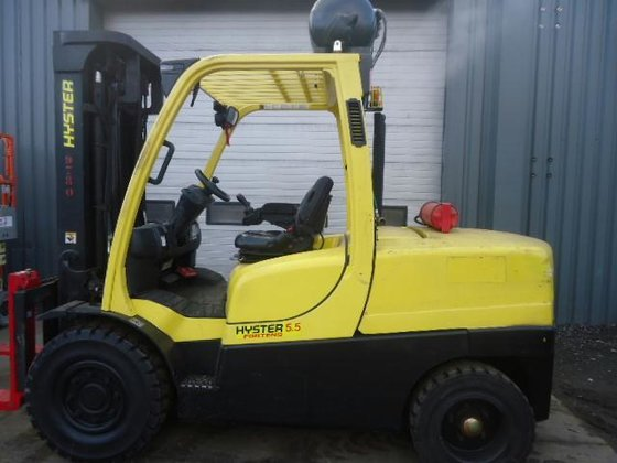 2008 Hyster H 5.50 FT