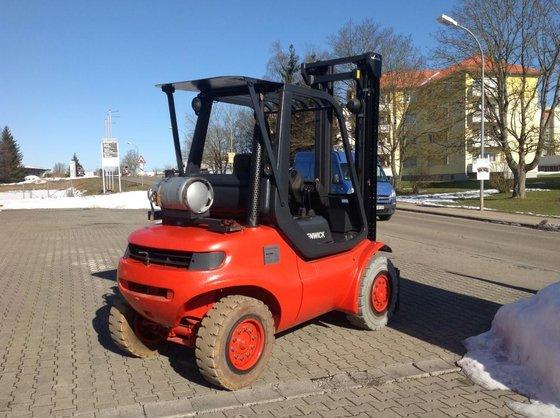 2002 Linde H45T-600 in Gerstetten,
