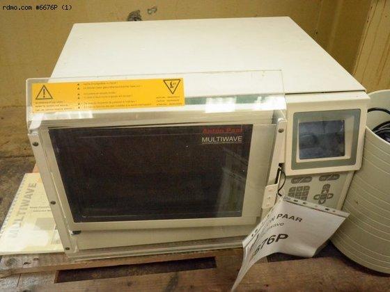 ANTON PAAR Multiwave in Contamine-sur-Arve,