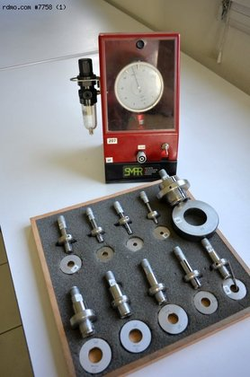 PFL pneumatic alesometre in Contamine-sur-Arve,