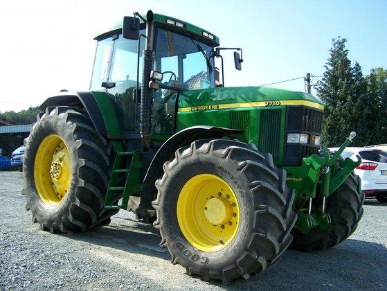 gebraucht 1999 john deere traktor 7710 in steinwiesen. Black Bedroom Furniture Sets. Home Design Ideas
