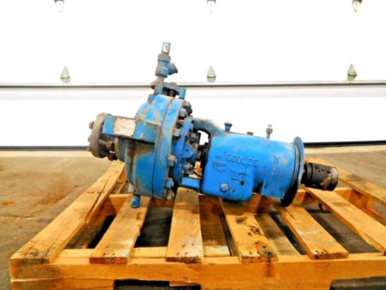 MO-2226, GOULDS 3700 SINGLE STAGE OVERHUNG PROCESS PUMP  1x2