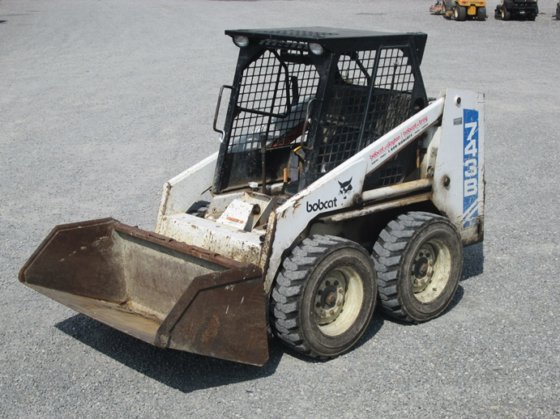 1992 Bobcat 743b In Fort Recovery Oh Usa