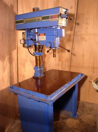 """20"""" Powermatic Single Spindle Drill;"""