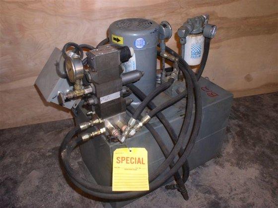 2 HP Hydraulic System in