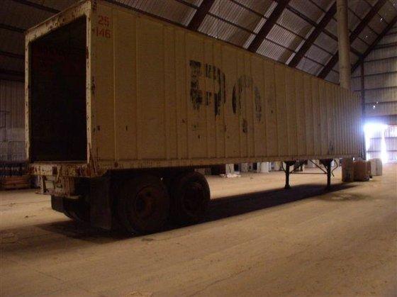 45' Lufkin Enclosed Trailer in