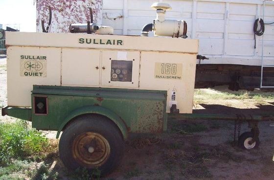 Sullair 160 Sulliscrew Air Compressor