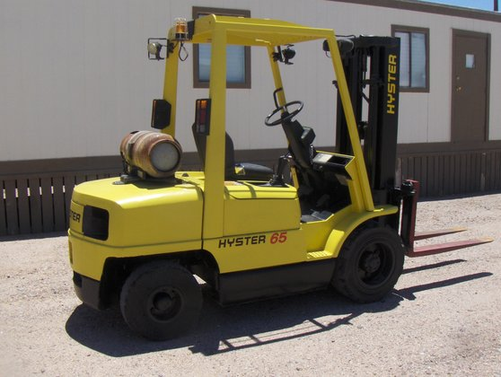 6, 500 lb. Hyster H