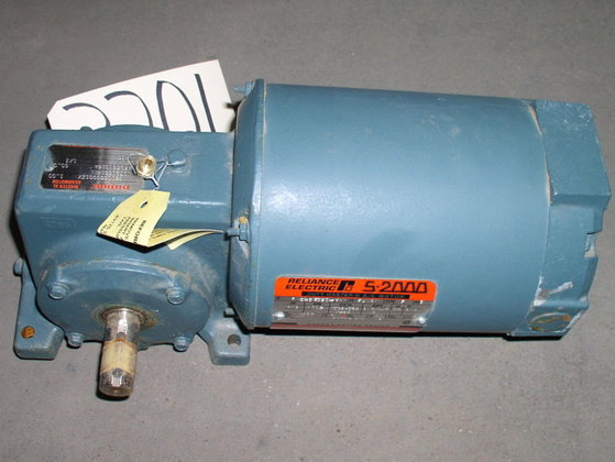 Reliance Right Angle Speed Reducer;