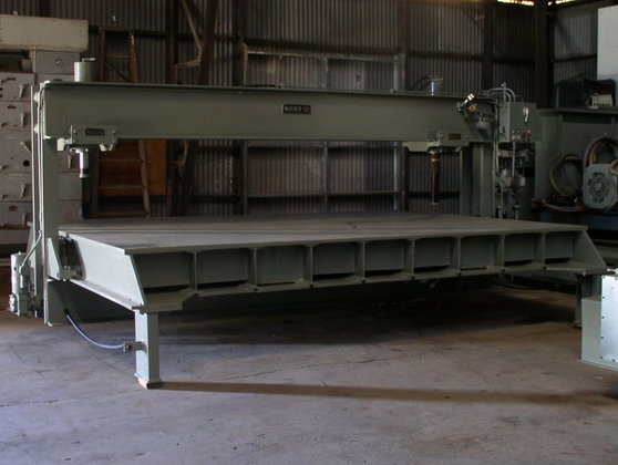 150 Ton Nugier Hydraulic Straightening