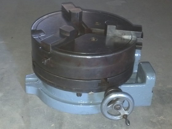 10'' T-Slotted Rotary Table w/