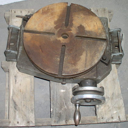 "15"" Rotary Table Manual Type"