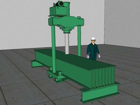 150 Ton Hannifin Straightening Press