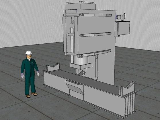 450 Ton Farquhar C-Frame Hydraulic