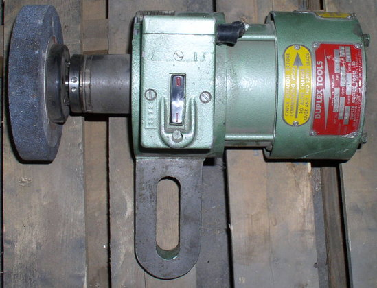 Duplex Tool Post Grinder in
