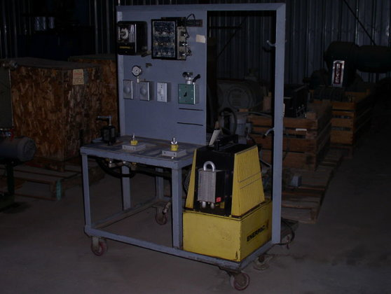 Enerpac Hydraulic Test Station in