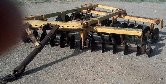 12 foot Hydraulic Disc Plow