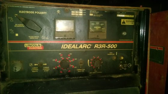 500 Amp Lincoln IdealArc R3R--500