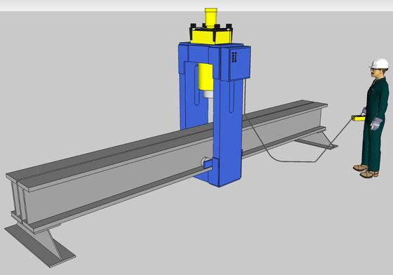 300 Ton Rutil Hydraulic Straightening Press in Casa Grande, AZ, USA