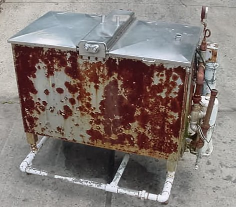 200 gallon agitated pateurizer by