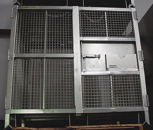 Security Pallet Security Cage #10114