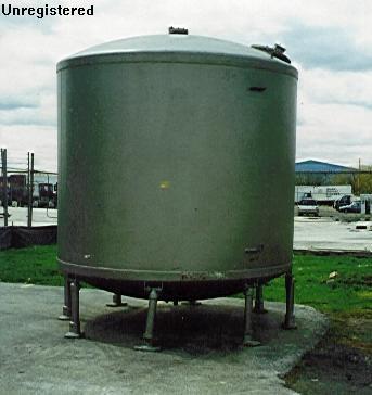 Pfaudler 5000 Gallon Tank #10646