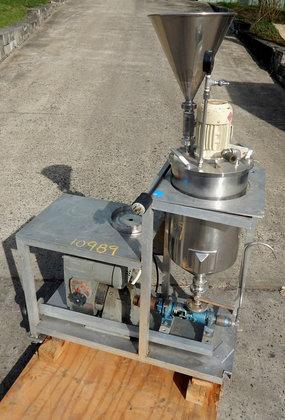 fryma centrifugal liquid deaerating mill.type