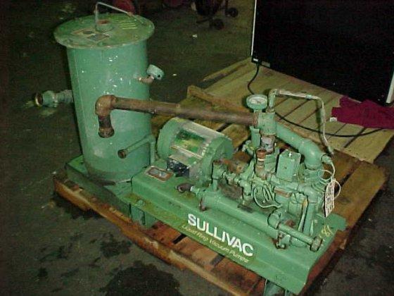 sullivac liquid ring vacuum pump.model