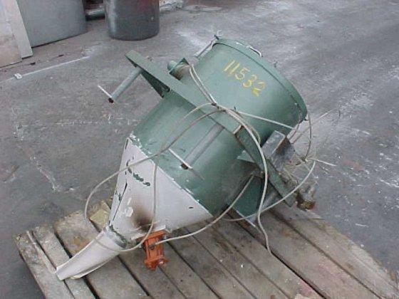 "vac-u-max pneumatic receiver 17"" diameter"
