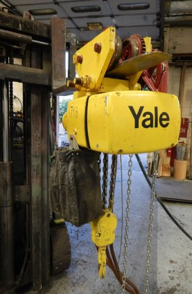 yale 2 ton capacity air