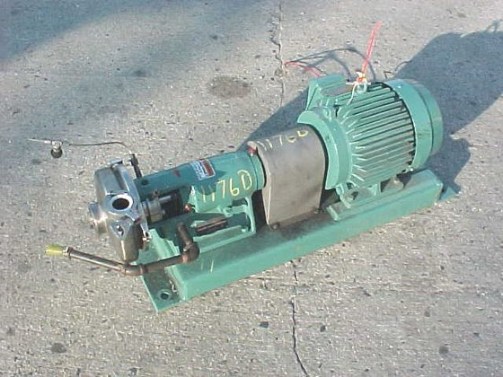 ladish triclover sanitary centrifugical pump.model