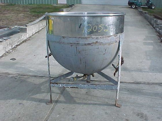 200 gallon open top stainless