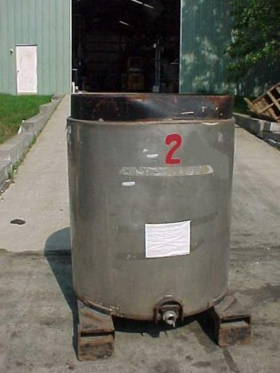350 gallon stainless steel portable