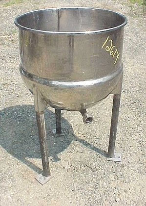 Lee 40 Gallon Sanitary Kettle