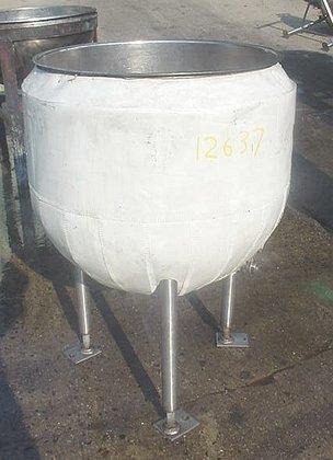 40 gallon stainless steel open