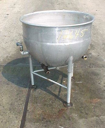 50 Gallon Aluminum Kettle Jacketed