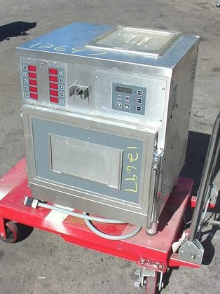 commercial trayed product steamer by