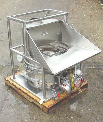 Kason Stainless Steel Hopper Dump