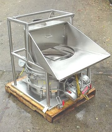 Kason Stainless Steel Hopper Dump
