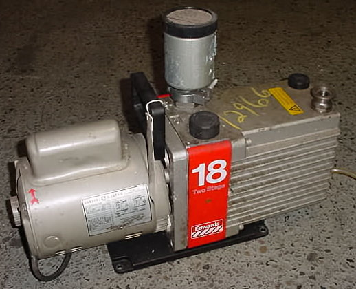 two stage.rotary vacuum pump by