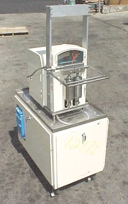 twin piston filler by japanese
