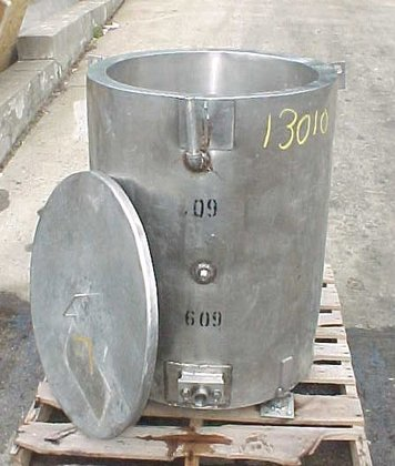 60 Gallon Open Top Jacketed